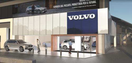 Volvo Roma Magliana Rendering
